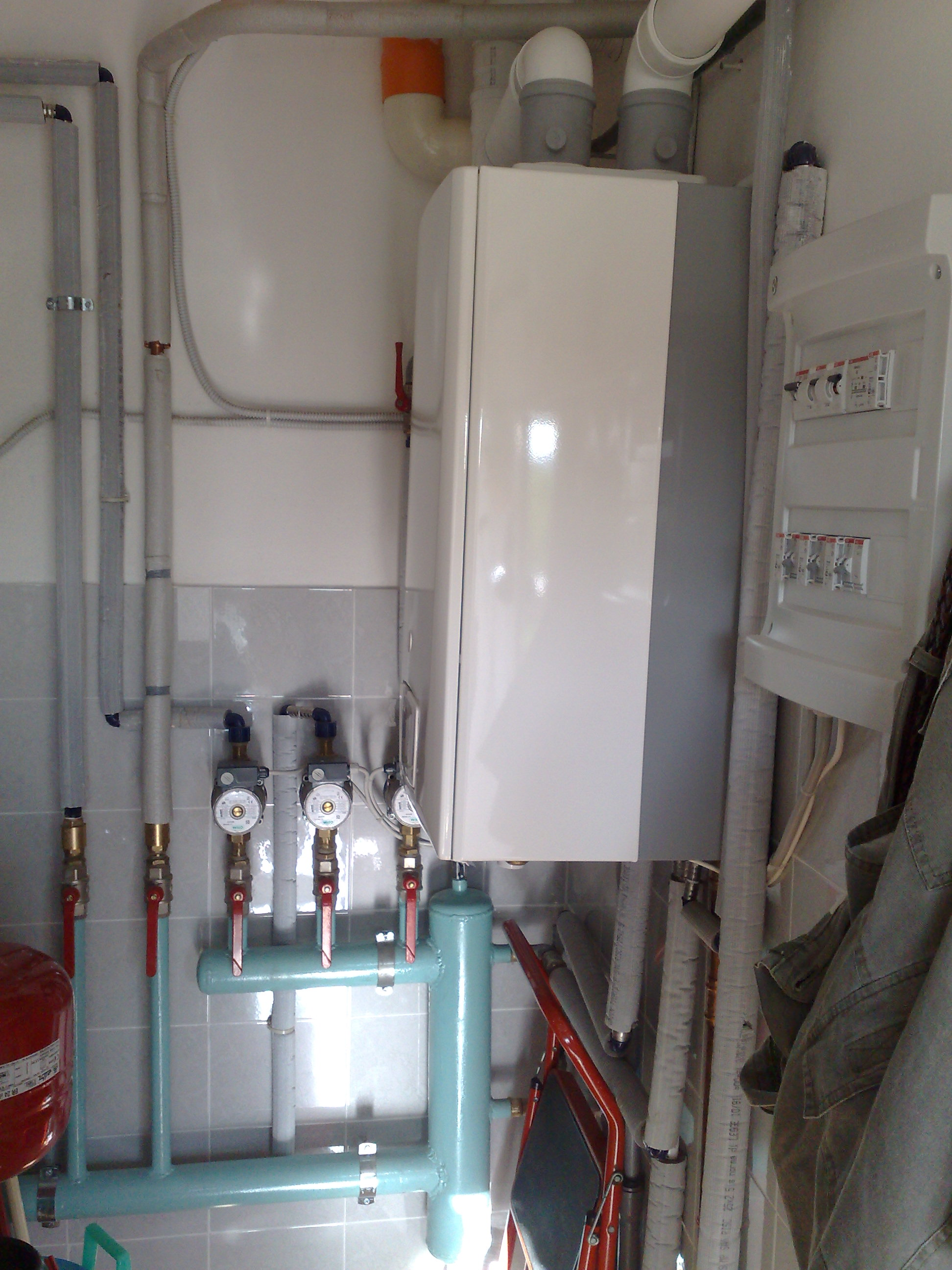 Caldaie a condensazione santini novelio for Caldaia a condensazione